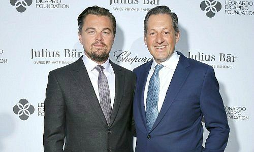 Leonardo DiCaprio with Boris Collardi