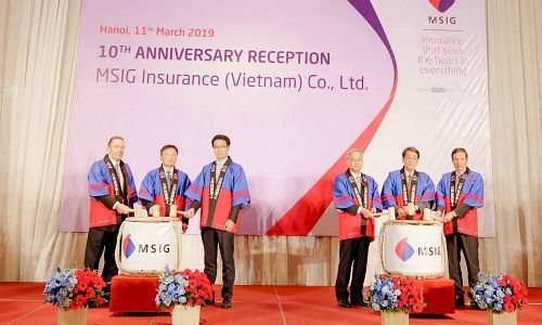 MSIG Insurance Celebrates Ten Years of Growth in Vietnam