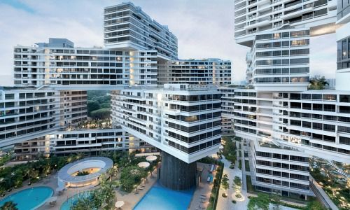 Singapore Private Residential Price: Dropping