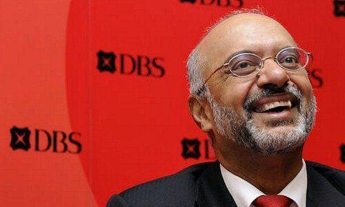 Piyush Gupta's Pay Surges at DBS