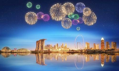 a happy new year with finewsasia