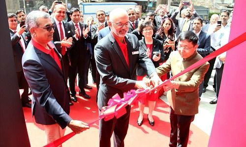 DBS Bank Goes Physical in India