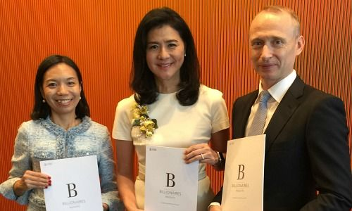 Antoinette Hoon PwC, Amy Lo, UBS Adrian Zuercher, UBS (from left to right)