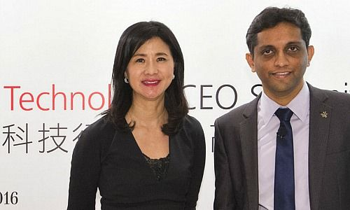 Amy Lo (left) and Sundeep Gantori, both UBS Wealth Management