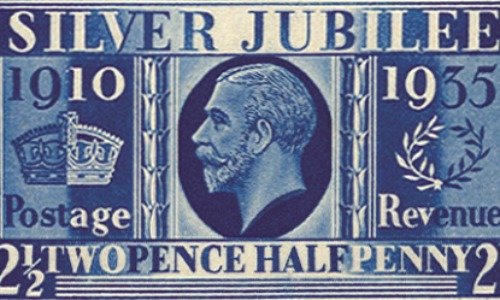 Rare Stamp, Prussian Blue