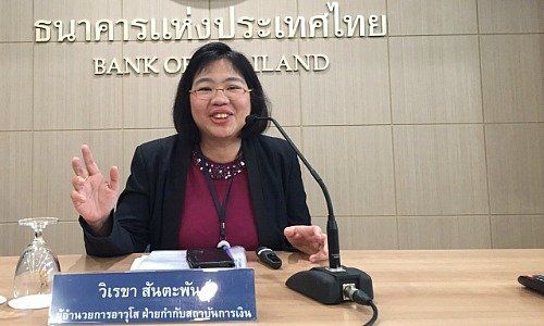 Vireka Suntapuntu, Senior Director of the Financial Institution Applications Department, Thailand